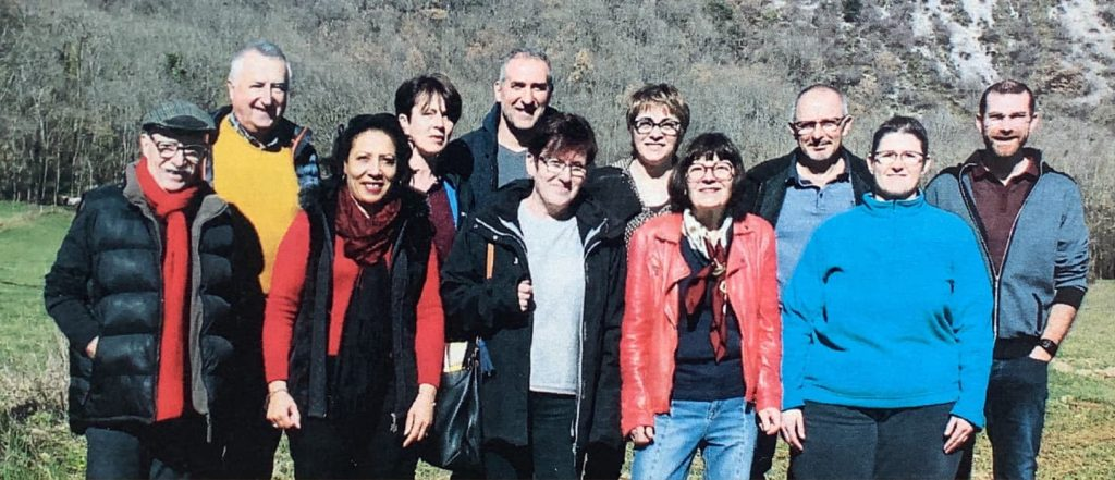 Photo de groupe des élu·e·s municipaux de Surba pour le mandat 2020-2026